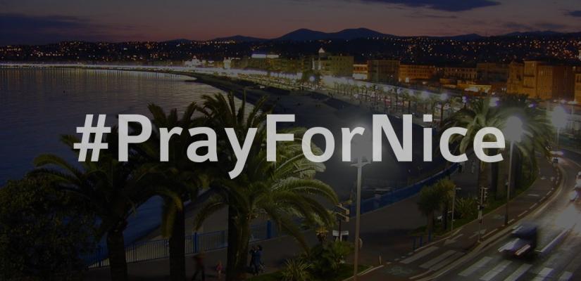 PrayForNice – Nizza (Frankreich)