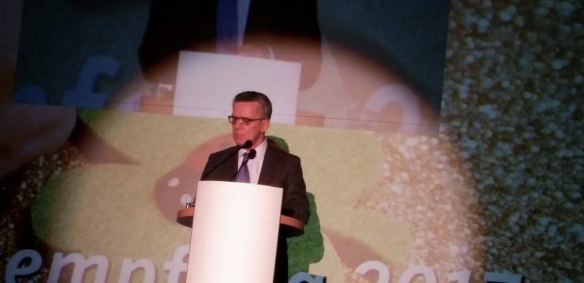 CDU-Neujahrsempfang – Vortrag – Thomas de Maizière