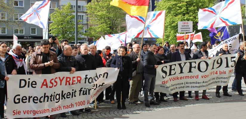 Demonstration Gütersloh – Demonstrationszug