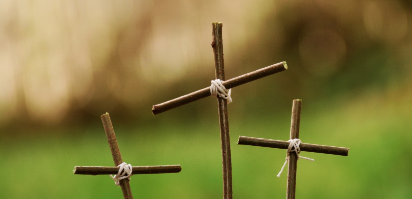 Ostern – Kreuz – Symbolbild