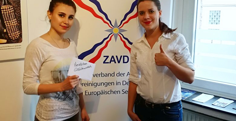 Zalin Shamoun & Sabrina Schluckebier – Patenschaftsprojekt Gütersloh