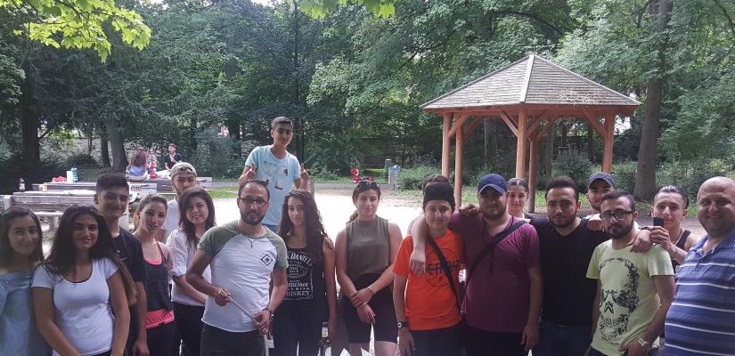 Sommerferien-Integrationsaktivität – Patenschaftsprojekt Wiesbaden