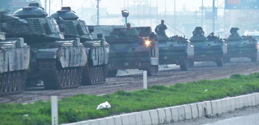 Türkisches Militär – Invasion Syrien – Operation Olivenzweig