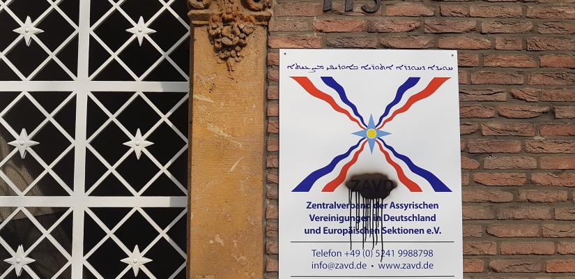 Vandalismus – ZAVD-Geschäftsstelle – Gütersloh