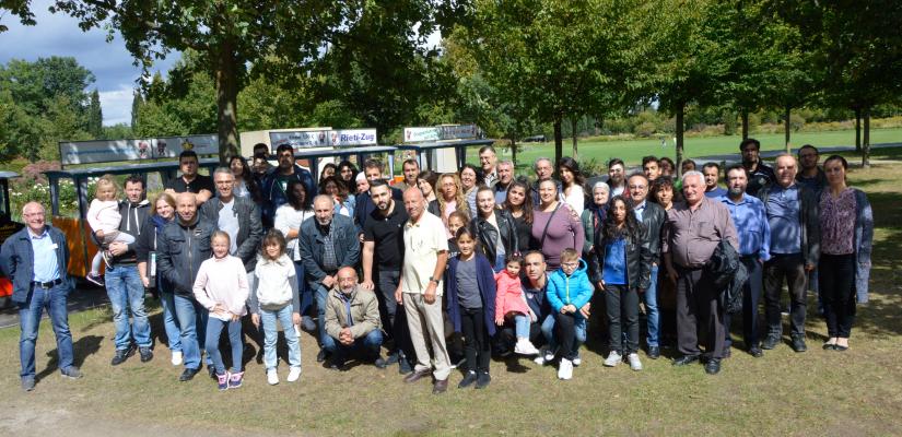 Gruppenfoto – Patenschaftsteilnehmer ZAVD LGS-Rietberg